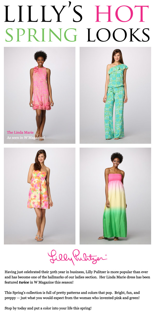 Lilly Pulitzer is Hot This Spring