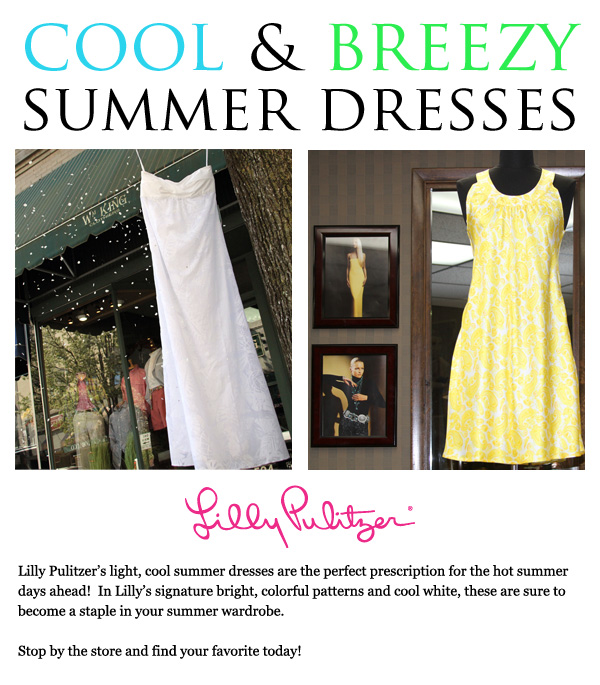 Cool & Breezy Summer Dresses from Lilly Pulitzer
