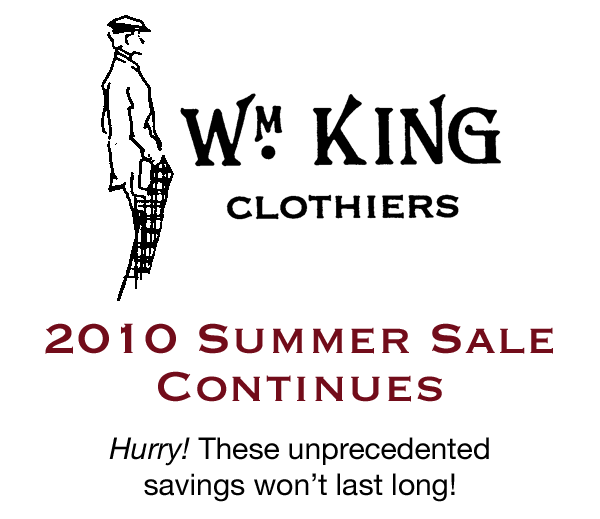 Our 2010 Summer Sale Continues