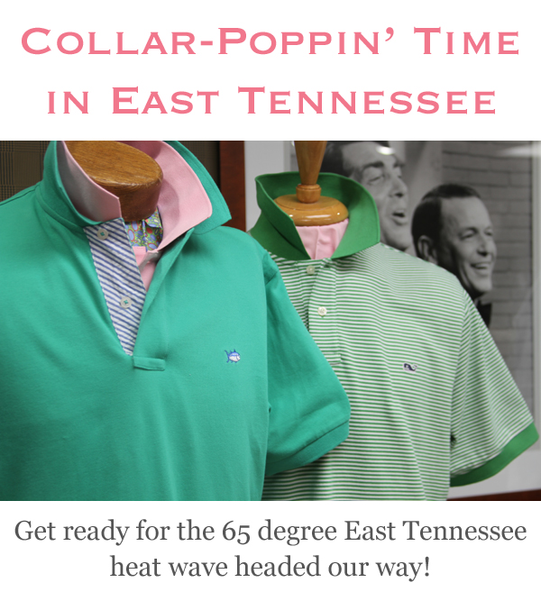 Collar Poppin' Time in East Tennessee