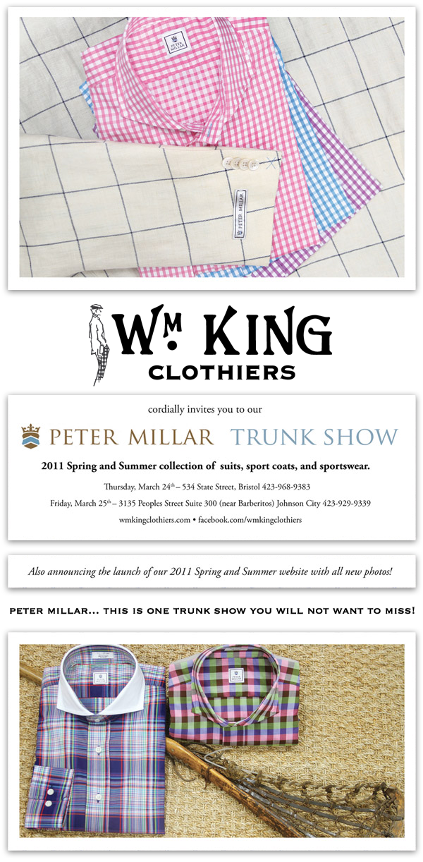 2011 Spring Peter Millar Trunk Show