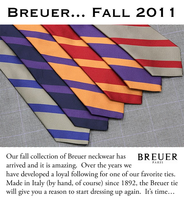 Breuer... Fall 2011