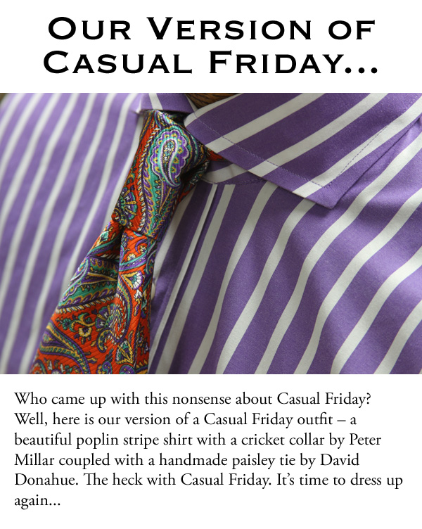 Our Version of Casual Friday...