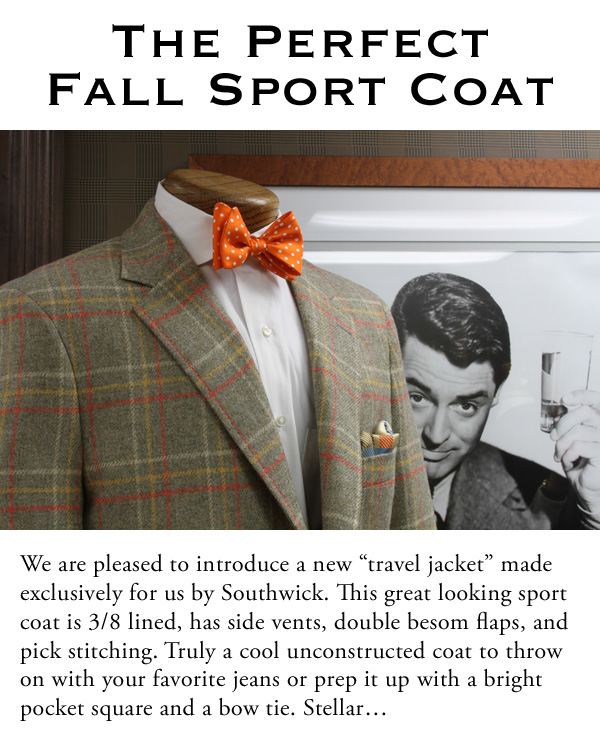 The Perfect Fall Sport Coat