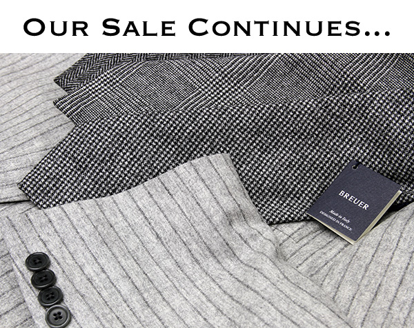 Our Sale Continues...
